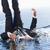 портрет · бизнесмен · падение · воды · большой · палец · руки - Сток-фото © wavebreak_media