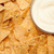 nachos · tazón · blanco · salsa · esquina - foto stock © wavebreak_media