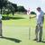 golf · sahası · yeşil · delik · bayrak · iki · golf - stok fotoğraf © wavebreak_media
