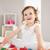 cute · dziewczyna · gry · budynków · wielokondygnacyjnych · bed · dziewczynka - zdjęcia stock © wavebreak_media