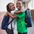 Cute · улыбаясь · камеры · коридор · школы - Сток-фото © wavebreak_media