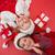 filles · présents · joyeux · Noël · heureux · vacances - photo stock © wavebreak_media