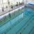 fitness · pływać · piękna · młodych · sexy · brunetka - zdjęcia stock © wavebreak_media