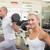 crossfit · gimnasio · bar · pesos · fitness - foto stock © wavebreak_media