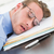 исчерпанный · бизнесмен · спальный · файла · поздно - Сток-фото © wavebreak_media