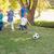 voetbal · zonneschijn · voetbal · achtergrond · leuk · bal - stockfoto © wavebreak_media