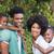 happy family having fun together stock photo © wavebreak_media