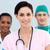 vrouwelijke · arts · permanente · team · ziekenhuis · werk - stockfoto © wavebreak_media