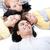 united family lying on the floor together stock photo © wavebreak_media