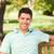 człowiek · ławce · lata · zielone · parku · osoby - zdjęcia stock © wavebreak_media