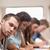 portret · studentów · egzamin · amfiteatr · student - zdjęcia stock © wavebreak_media