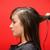 kadın · saç · kırmızı · iş · moda · çalışmak - stok fotoğraf © wavebreak_media