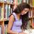jungen · Studenten · Lesung · Buch · Bibliothek · Frau - stock foto © wavebreak_media