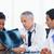 Arzt · zwei · Mitarbeiter · ernst · arbeiten - stock foto © wavebreak_media
