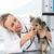 ветеринар · собака · стетоскоп · женщины · клинике · женщину - Сток-фото © wavebreak_media