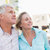 actieve · senioren · vergadering · ontspannen · sport · paar · Blauw - stockfoto © wavebreak_media