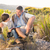 Vater-Sohn · Wandern · Landschaft · Kinder · Mann · Natur - stock foto © wavebreak_media