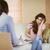 depressiv · Patienten · Bild · traurig · schauen · Psychiater - stock foto © wavebreak_media