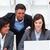 charmant · onderneemsters · collega · werken · laptop · kantoor - stockfoto © wavebreak_media
