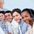 charmant · klantenservice · call · center · computer · vrouw · kantoor - stockfoto © wavebreak_media