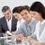 üzletemberek · jegyzetel · üzlet · konferencia · vonal · iroda - stock fotó © wavebreak_media