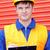 熱狂的な · エンジニア · 笑顔 · 男 · 歯 · 帽子 - ストックフォト © wavebreak_media
