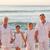 portret · familie · naast · zee · strand · hemel - stockfoto © wavebreak_media