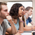 studentów · słuchania · wykładowca · amfiteatr · student · edukacji - zdjęcia stock © wavebreak_media