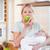bebé · armas · manzana · alimentos · frutas - foto stock © wavebreak_media