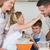 счастливым · молодые · семьи · вместе · улыбка - Сток-фото © wavebreak_media