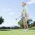 balle · de · golf · femme · club · golf · amusement - photo stock © wavebreak_media