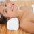 bella · bruna · testa · massaggio - foto d'archivio © wavebreak_media