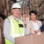 trabajador · almacén · cajas · digital · tableta · hombre - foto stock © wavebreak_media