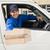 van · travailleurs · cases · homme · équipe · transport - photo stock © wavebreak_media