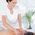 pescoço · massagem · paciente · médico · escritório · homem - foto stock © wavebreak_media