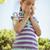 cute little girl blowing her nose in park stock photo © wavebreak_media