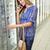 telefone · chamada · supermercado · belo · mulher · jovem · mercearia - foto stock © wavebreak_media