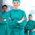 mannelijke · arts · ander · gezondheidszorg · professionele · masker - stockfoto © wavebreak_media
