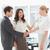 деловая · женщина · мужчины · коллеги · галстук · молодые - Сток-фото © wavebreak_media
