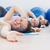 yandan · görünüş · uygun · kadın · egzersiz · uygunluk · top - stok fotoğraf © wavebreak_media