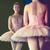 zarif · balerin · ayakta · ayna · bale · stüdyo - stok fotoğraf © wavebreak_media