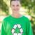 gelukkig · milieu · activist · park · vrouw - stockfoto © wavebreak_media
