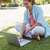 mujer · portátil · al · aire · libre · verano · negocios · hierba - foto stock © wavebreak_media