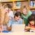 diákok · tankönyvek · könyvek · iskola · oktatás · kettő - stock fotó © wavebreak_media