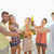 sorridente · amigos · verão · praia · amizade - foto stock © wavebreak_media