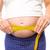 terhes · nő · mér · dudorodás · fehér · egészség · női - stock fotó © wavebreak_media