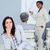 vervelen · zakenvrouw · presentatie · collega's · vergadering · werk - stockfoto © wavebreak_media