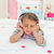 Beautiful Little gril listening to music with headphones lying on her bed stock photo © wavebreak_media