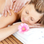 nyugodt · fiatal · nő · hát · masszázs · fürdő · központ - stock fotó © wavebreak_media