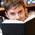 portret · gelukkig · mannelijke · student · bibliotheek · huiswerk - stockfoto © wavebreak_media